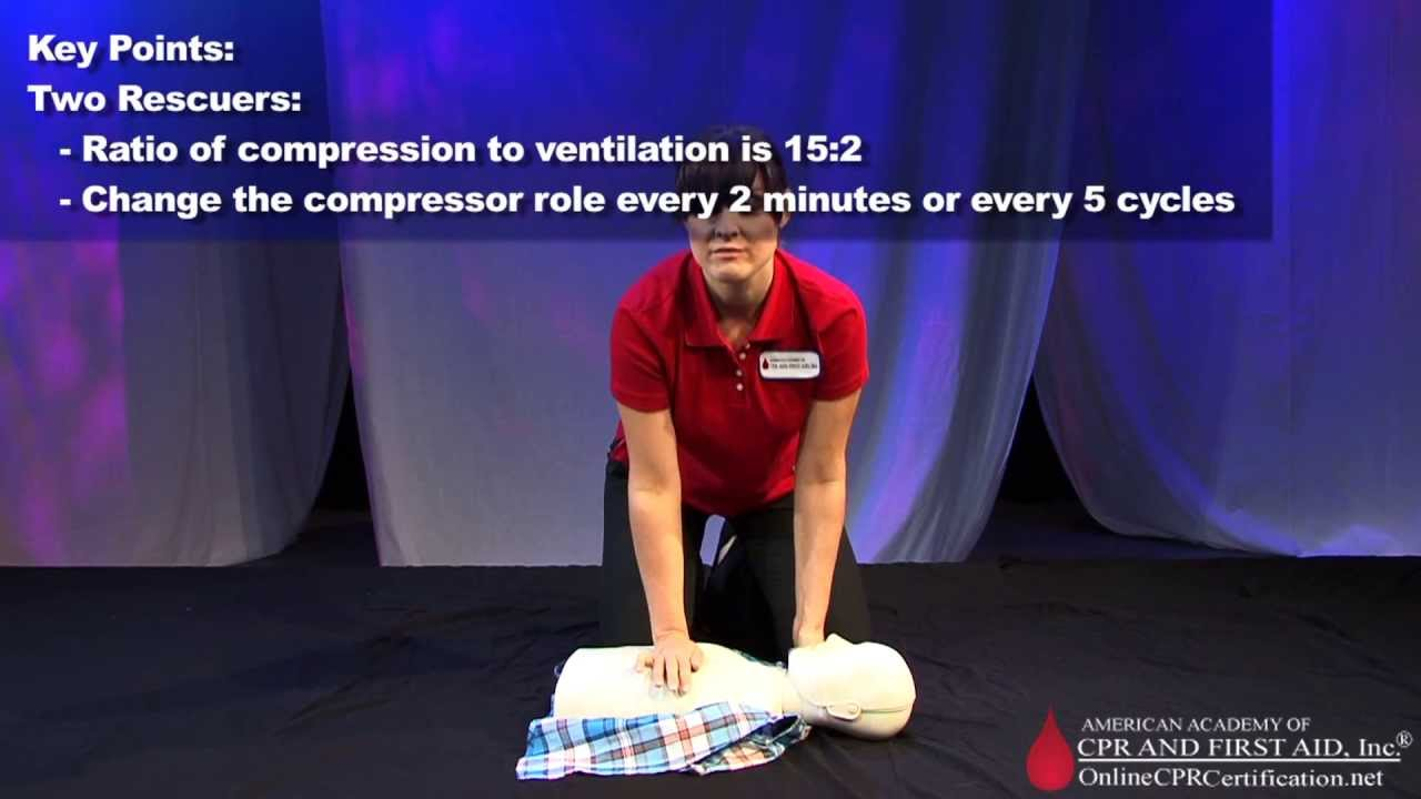 Child Cpr How To Administer Cpr To A Child Youtube