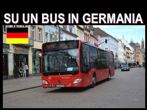 Su un Autobus  Mercedes in Germania con Lambrenedetto !!!