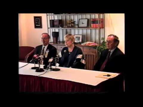 Press Conference with Maureen Reagan   Eureka College   May 9, 2000