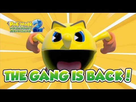 PAC-MAN And The Ghostly Adventures 2 - X360/PS3/WII U/3DS - The Gang Is Back! (English Trailer)