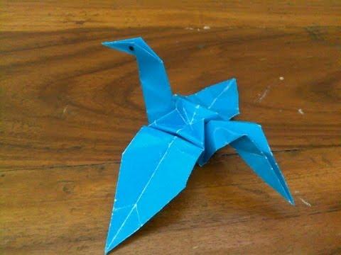 Cara Membuat Origami | Origami Binatang Angsa