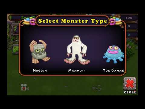 If I Was The Voice Actor Of The Monsters In My Singing Monsters =/