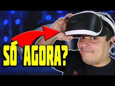 Playstation VR - Muito Tarde Para Pegar Um?