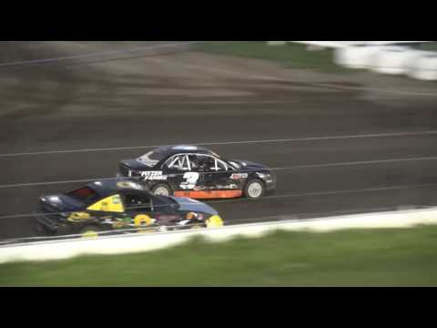 Outlaw 4 Cylinder feature Farley Speedway 7/14/17