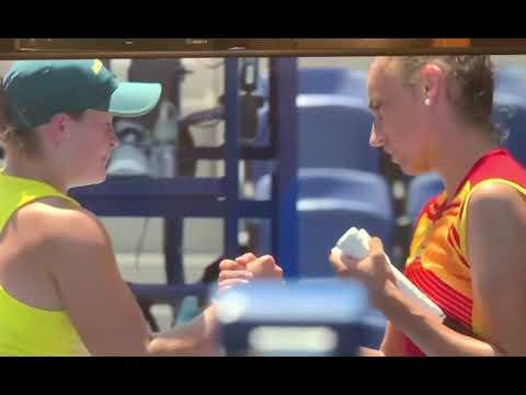 Sara Sorribes Tormo Upsets Ashleigh Barty Wimbledon Champ At 2020 Tokyo Olympics