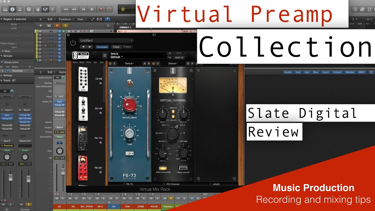 slate digital vpc virtual preamp collection review sound examples drums youtube. Black Bedroom Furniture Sets. Home Design Ideas