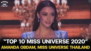 Amanda Obdam, Thailand - TOP 10 MISS UNIVERSE 2020