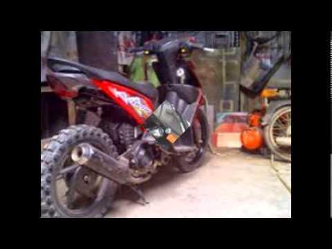 Modifikasi Motor Matic Motorplus Modif39;39;Desain Beat gaya
