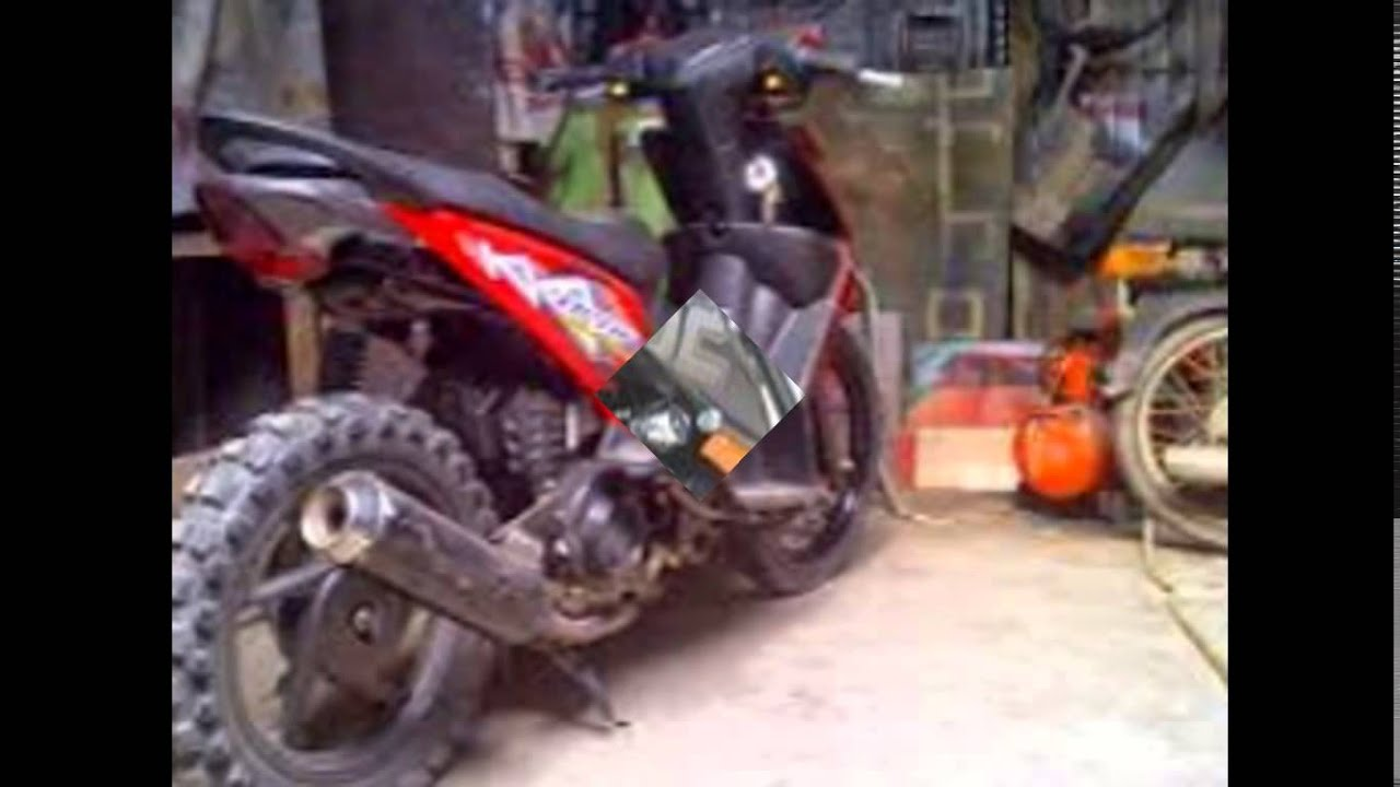 Modifikasi Motor Matic Motorplus ModifDesain Beat Gaya Trail