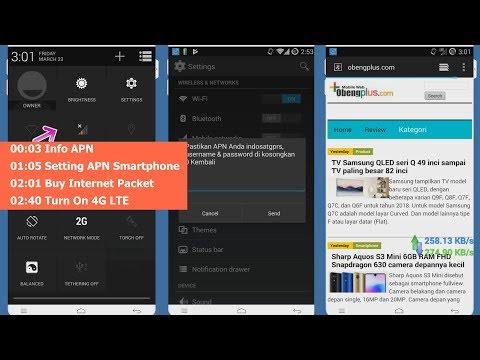 Setting APN Internet IM3 Indosat Beli Paket Internet *123# Cara Aktifkan 4G LTE