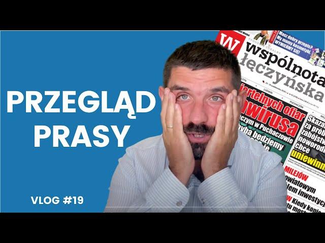 VLOG #19 | Przegląd prasy | Reportaż TV Lublin | Transakcja | Umowa pośrednictwa czy oświadczenie? |