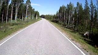 Motorrad in Lappland Finnland (6)
