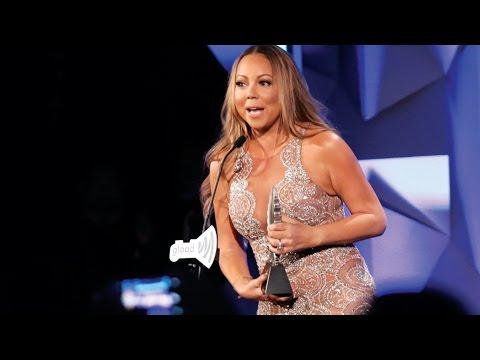 Mariah Carey Accepts the Ally Award at the #GLAADAWARDS