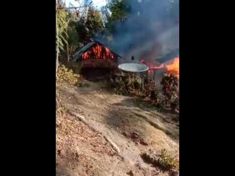 [Video] Rumah Calon Pengantin di Madandan, Habis Dilalap Api