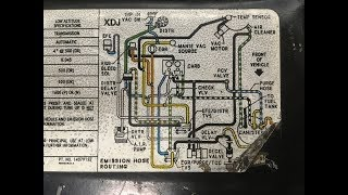 1984 Chevy Gmc Vacuum Diagram Routing Solved Youtube