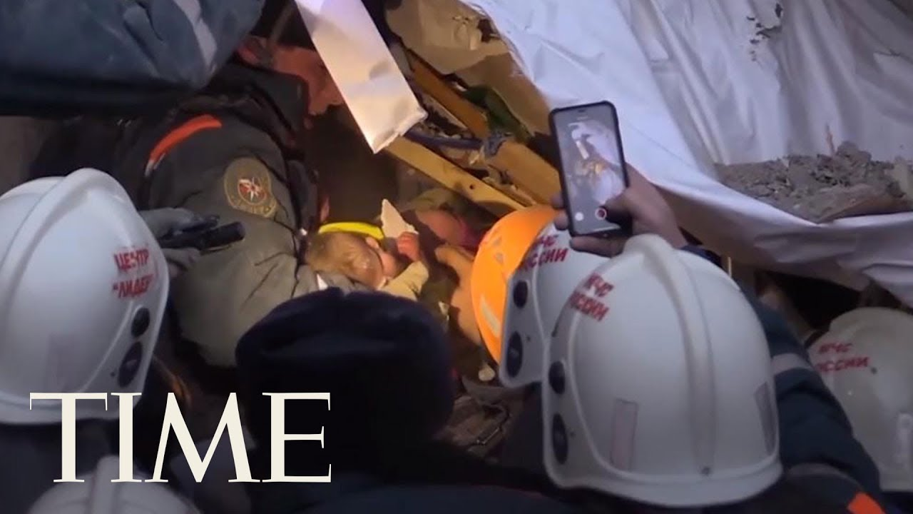 Baby Rescued From Rubble 35 Hours After Apartment Collapse | TIME