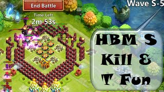 Castle Clash - Survived HBM S Now On To Tea Time :)