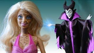 Мультик Барби Супер серия Ведьма  Страшная Видео для девочек Куклы Барби на русском