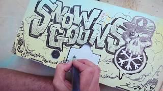 Snowgoons x Dan Lish x Montana Cans x Berlin Boombox Charity Auction