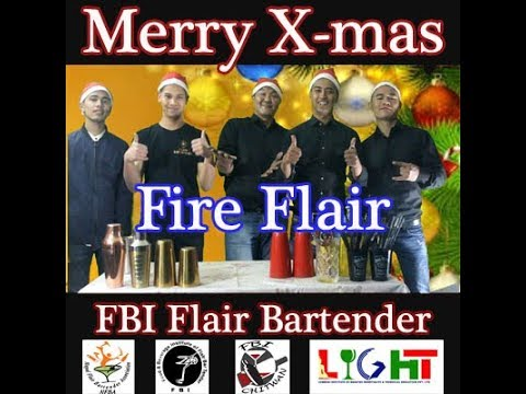 Fire Fair with FBI flair bartender samakushi Kathmandu, NEPAL