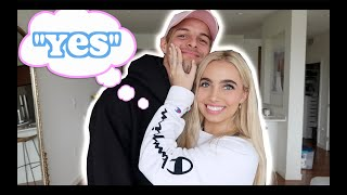 "SAYING ""YES"" TO MY BOYFRIEND FOR 24 HOURS!!! (Meet my bf)"