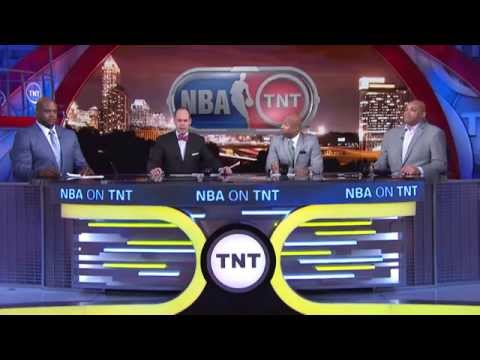 NBA on TNT crew honors longtime Clippers broadcaster Ralph Lawler