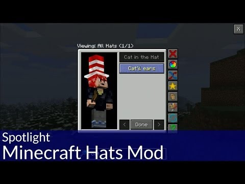 Spotlight: Minecraft Hats Mod