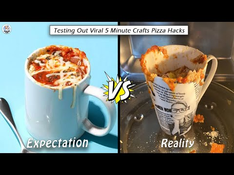 Testing Out Viral Food Hacks By 5 MINUTE CRAFTS | Testing Out 5 Minute Crafts Viral Pizza Hacks | HP