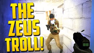 THE ZEUS TROLL! - CS:GO Funny Moments in Competitive