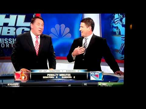 "Mike Milbury calls Keith Jones ""a dink"" or ""a dick"""