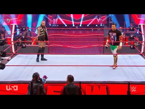 Download Humberto and Aleister Black Vs Seth Rolins - WWE Monday Night Raw 29/6/2020 Highlights