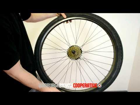 Puncture Repair - Edinburgh Bicycle Co-op Style
