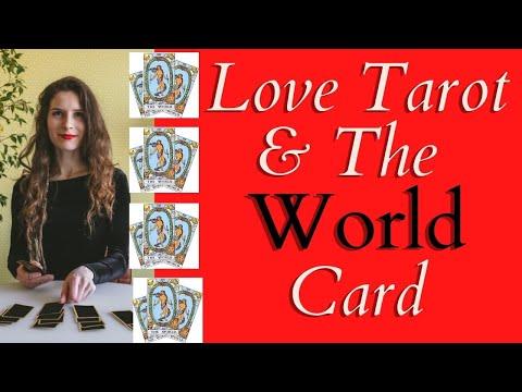 Love Tarot And The World Card ❤ Love, Travel, New Start?