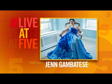 Broadway.com #LiveatFive with Jenn Gambatese of SCHOOL OF ROCK
