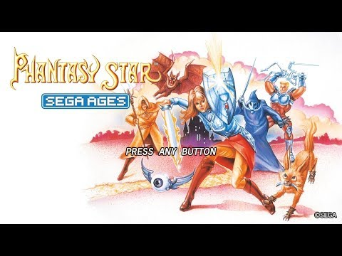 SEGA AGES Phantasy Star – 45 Minute Playthrough [Switch]
