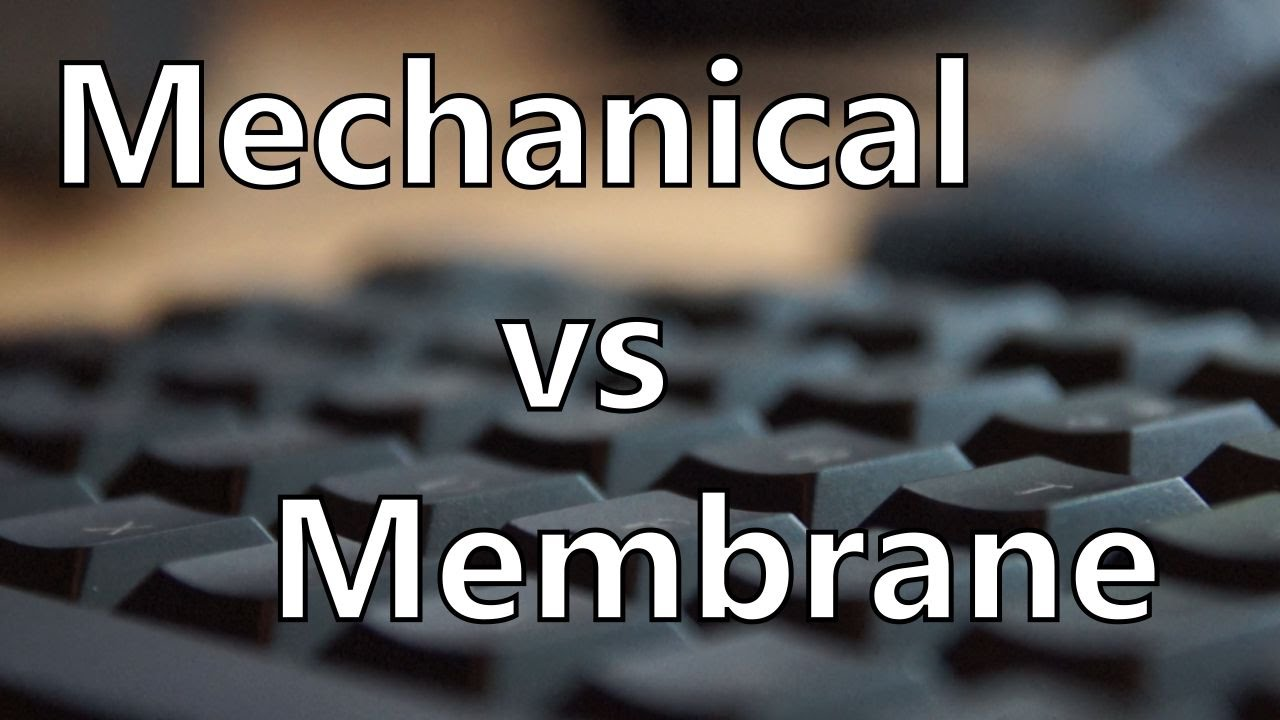 Mechanical Keyboard vs Membrane Keyboard Sound and Latency Test