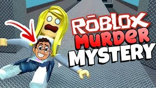 ROBLOX-I CREATED A CHANNEL T-SHIRT AND WENT TO THE MURDER MYSTERY FOR THE FIRST TIME