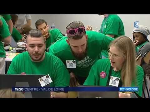 Reportage Bourges Codeurs Web - JT Fran ce 3 Centre
