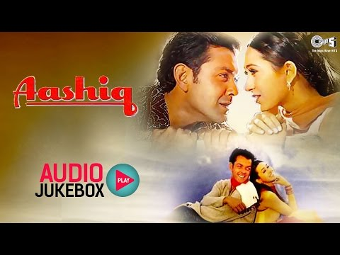 Aashiq Audio Songs Jukebox  Bob Deol, Karisma Kapoor  Superhit Hindi Songs