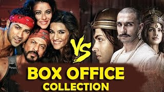 Dilwale V/s Bajirao Mastani BOX OFFICE COLLECTION