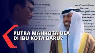 Putra Mahkota UEA Jadi Dewan Pengarah Ibu Kota Baru, Ini Alasan Presiden Jokowi