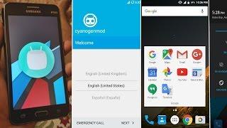 Install 6.0.1 Marshmallow Cyanogenmod 13 on Galaxy Grand Prime