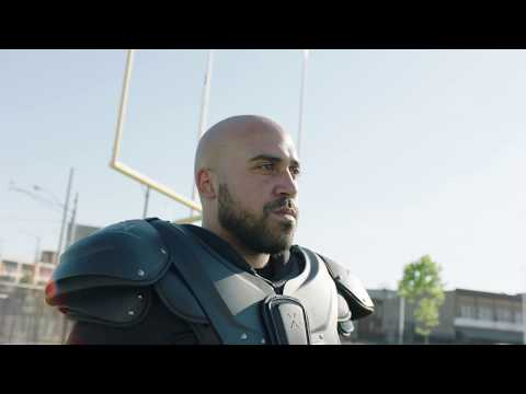 Football Equipment: Xenith Shoulder Pads Fitting