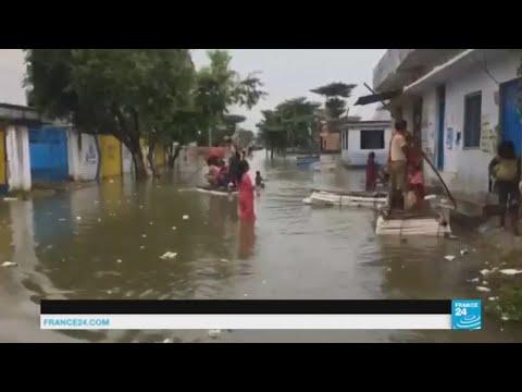 Bombay sous les eaux