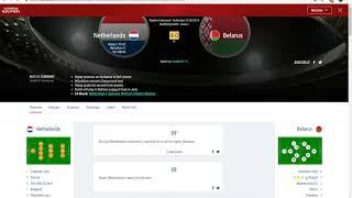 UEFA Euro 2020 qualifying Group C Netherlands 4-0 Belarus
