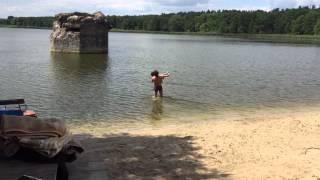 Ходосеевка(Купание в озере., 2015-07-02T19:46:23.000Z)