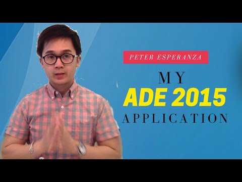 Apple Distinguished Educator Application Video - Class of 2015