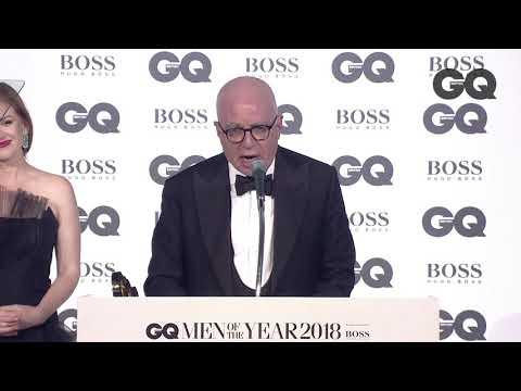 Michael Wolff on Donald Trump: 'God help us'   GQ Awards 2018   British GQ