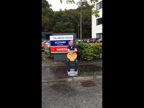 Scotmid's Colin McLean Does The Ice Bucket Challenge