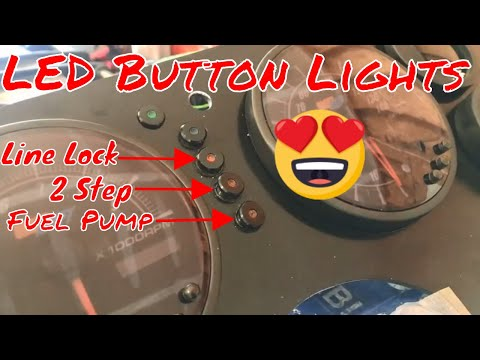 LED Light Install [LED Button Lights] [Foxbody Mustang] [LED Indication Lights]